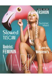 Portada Marika Magazine editorial Westeros por Daniel Emperador